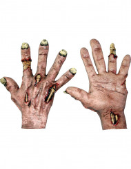 Luvas zombie adulto Halloween
