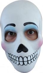 Máscara caveira adulto Dia dos Mortos maquilhagem mulher