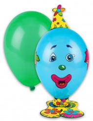 Kit de balões formato palhaço