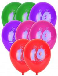 10 balões 10 anos