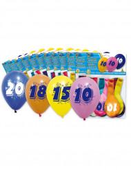 10 balões 50 anos
