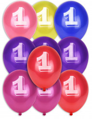 10 balões n° 1