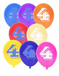 10 balões n°4
