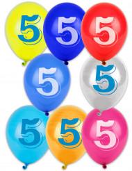 10 balões n°5