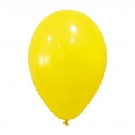 24 Balões amarelos de 25cm