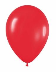24 balões vermelhos 25cms
