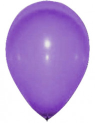 24 balões roxos