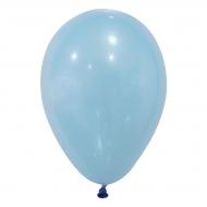 24 balões turquesa 25cm