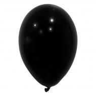 24 balões pretos