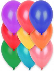 12 balões biodegradáveis diferentes cores 28 cm