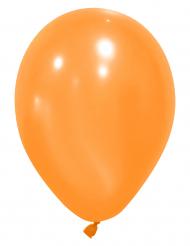 12 balões cor de laranja
