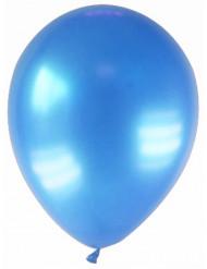 12 balões azuis