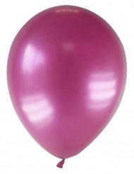 12 balões bordeaux