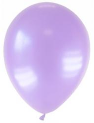12 balões roxos metalizado