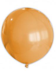 Balão cor de laranja