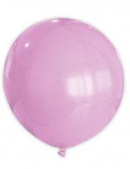 Balão cor de rosa 80cm