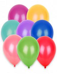 100 Balões de cores diferentes 27cm