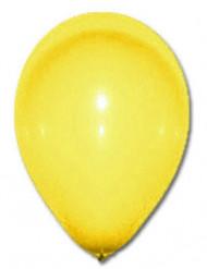 100 Balões amarelos 27cm
