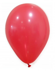 100 Balões vermehos 27cm