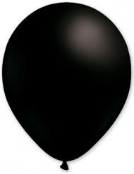 100 Balões pretos 27cm