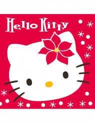 20 Guardanapos Hello Kitty Natal™