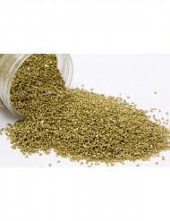 Areia metálica dourada
