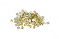 Confettis de mesa dourados