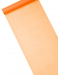 Caminho de mesa cor de laranja 10 m