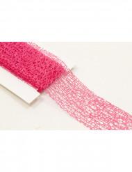 Fita fantasia cor-de-rosa