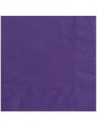 20 Guardanapos de papel lilás