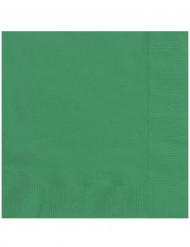 20 Guardanapos de papel verde