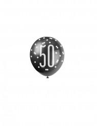 Balões 50 anos cinzentos