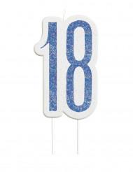 Vela 18 anos azul