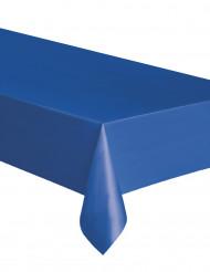 Toalha retangular de plástico azul 137 x 274 cm