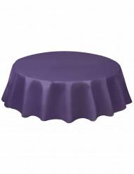 Toalha redonda de plástico lilás