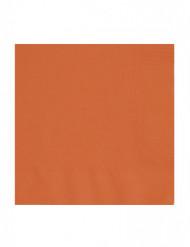 50 Guardanapos cor de laranja