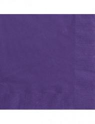 50 Guardanapos de cor violeta
