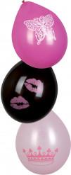 6 balões Princesa