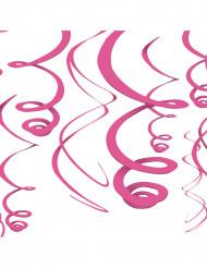 Decorações para pendurar cor-de-rosa