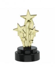 6 estatuetas estrelas cadentes Hollywood 7,5 cm