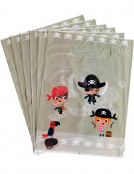 6 Sacos de festa Pirata