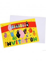 6 Convites com envelopes Barbapapa™