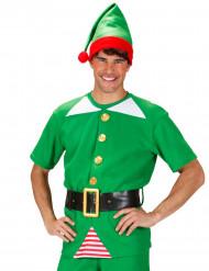 Disfarce elfo Natal adulto