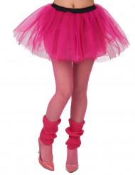 Tutu cor-de-rosa fluo mulher