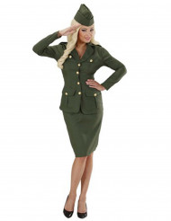 Disfarce soldado para mulher