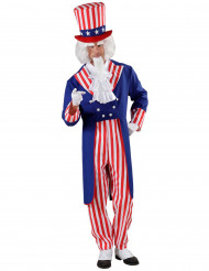 Disfarce Uncle Sam adulto