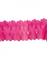 Grinalda de papel fuschia