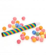 Lote 1 Tubo lança bolas e 30 bolas