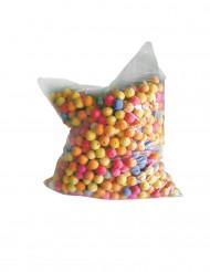 1000 Bolas para tubos lança bolas multicoloridas
