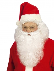 Peruca com barba Pai Natal adulto